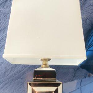 Black & White Square Lamp