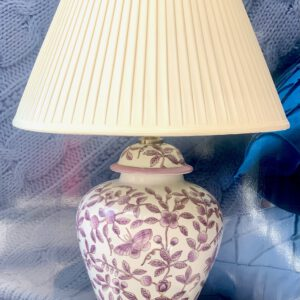Lilac Butterfly Lamp