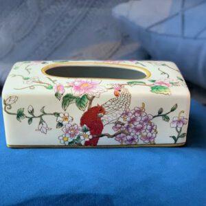 Spring Grove Ceramic Tissue Box